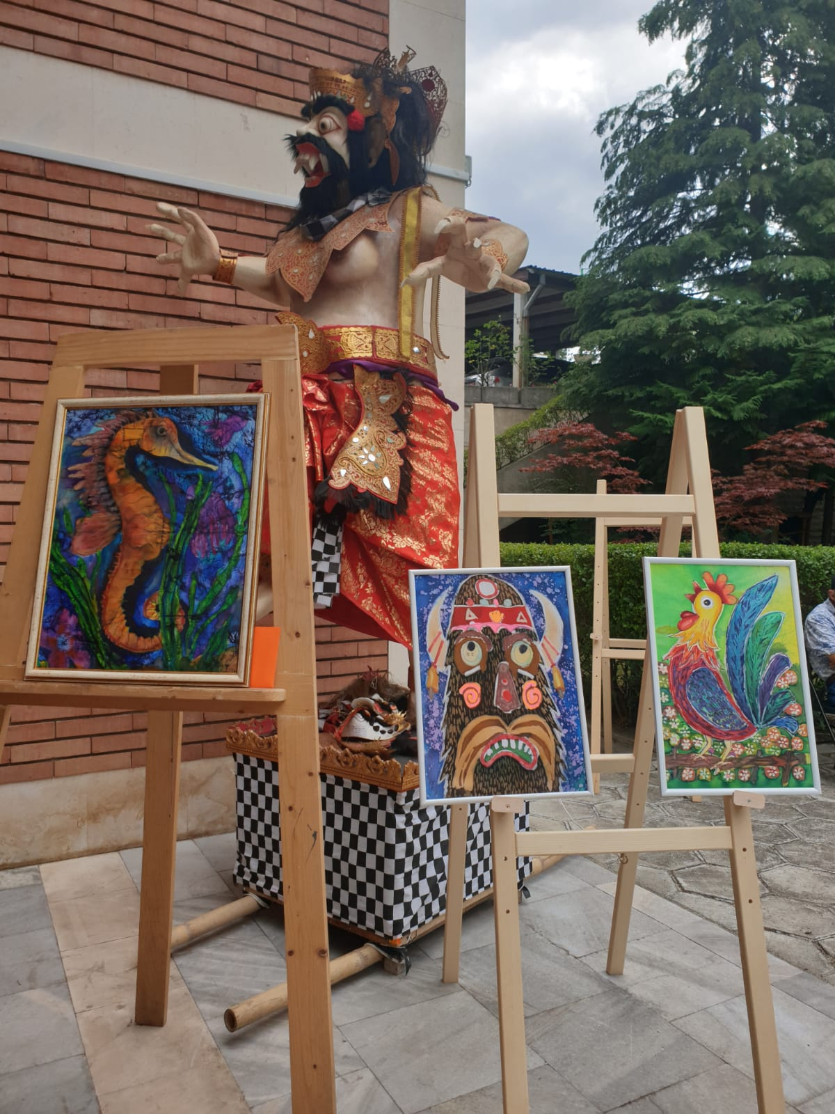 Lomba Batik Mewarnai Perayaan HUT RI Di Bulgaria Gapura News