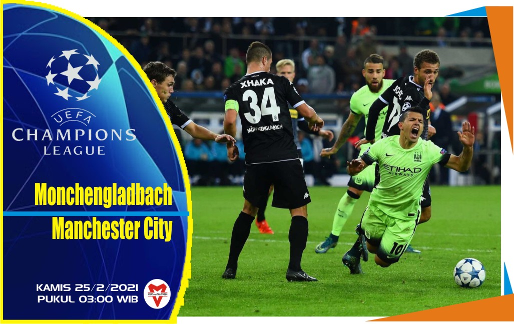 Monchengladbach vs Manchester City