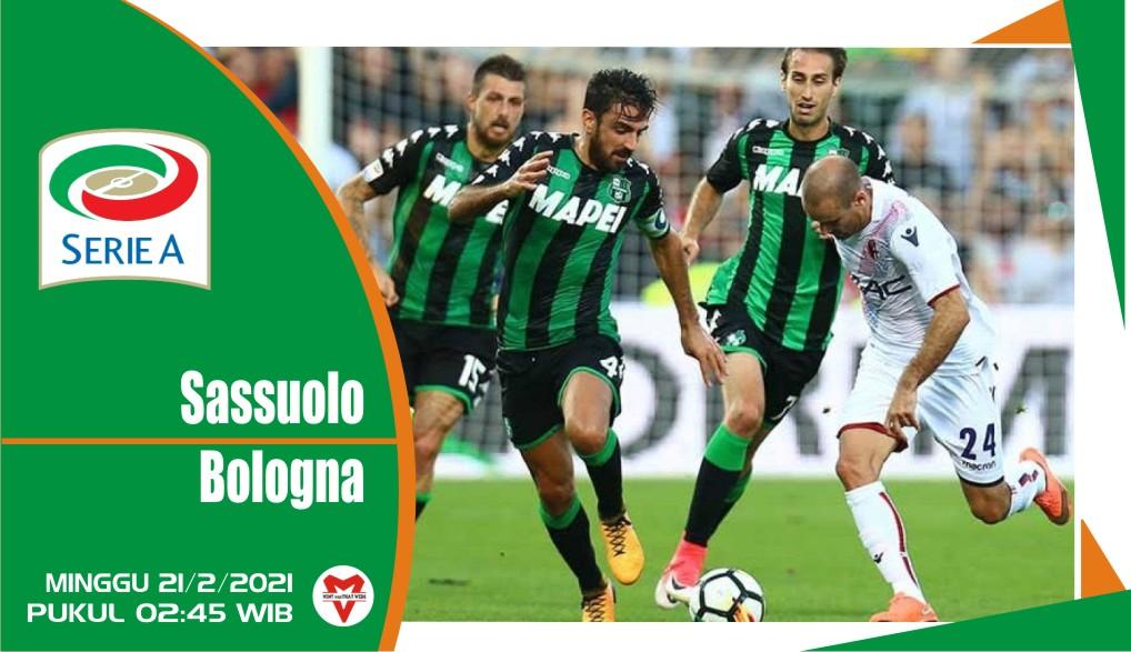 Sassuolo vs Bologna