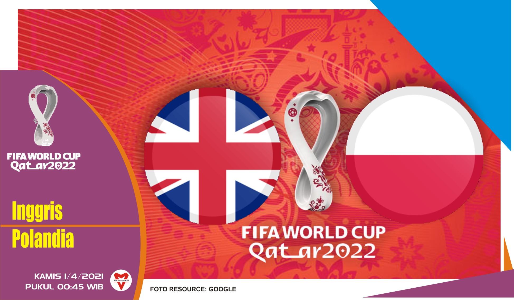 Prediksi Pertandingan Inggris vs Polandia - 1 April 2021