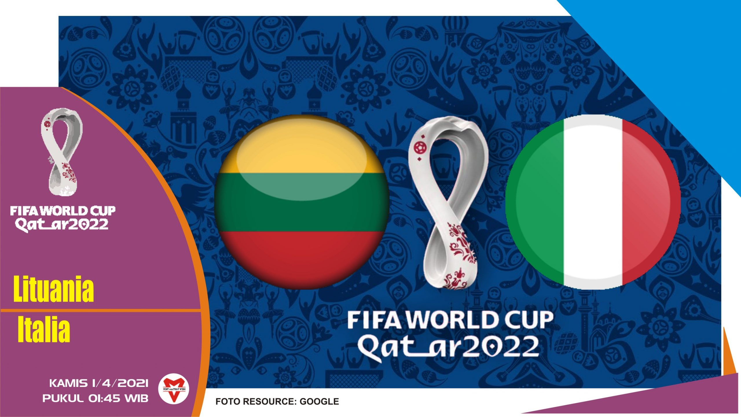 Prediksi Pertandingan Lituania vs Italia - 1 April 2021