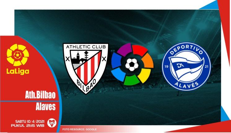 Prediksi Liga Spanyol: Athletic Bilbao vs Alaves - 10 April 2021