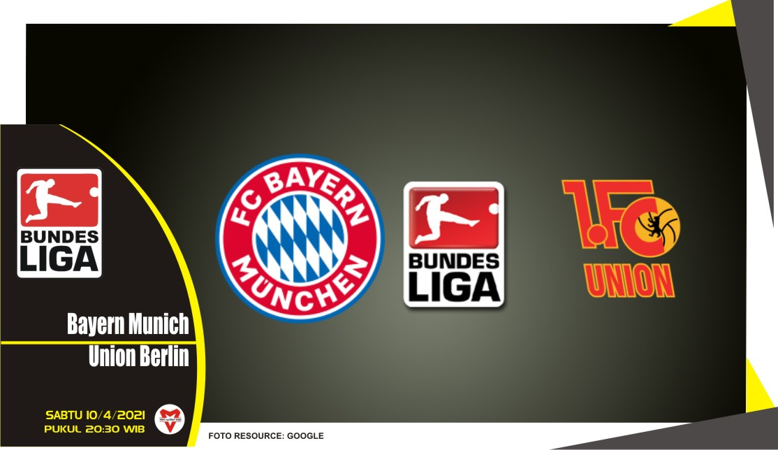 Prediksi Liga Jerman: Bayern Munich vs Union Berlin - 10 April 2021