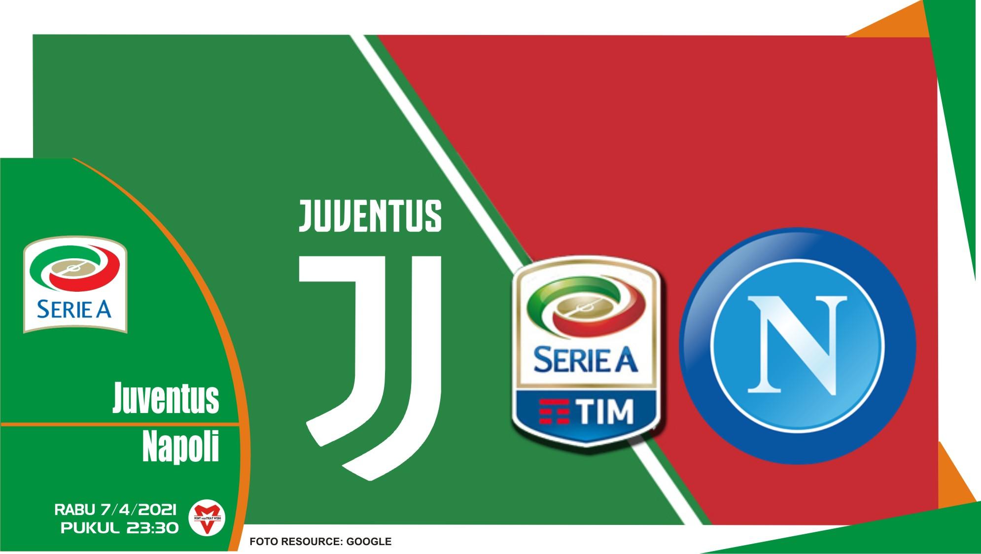 Prediksi Liga Italia: Juventus vs Napoli - 7 April 2021