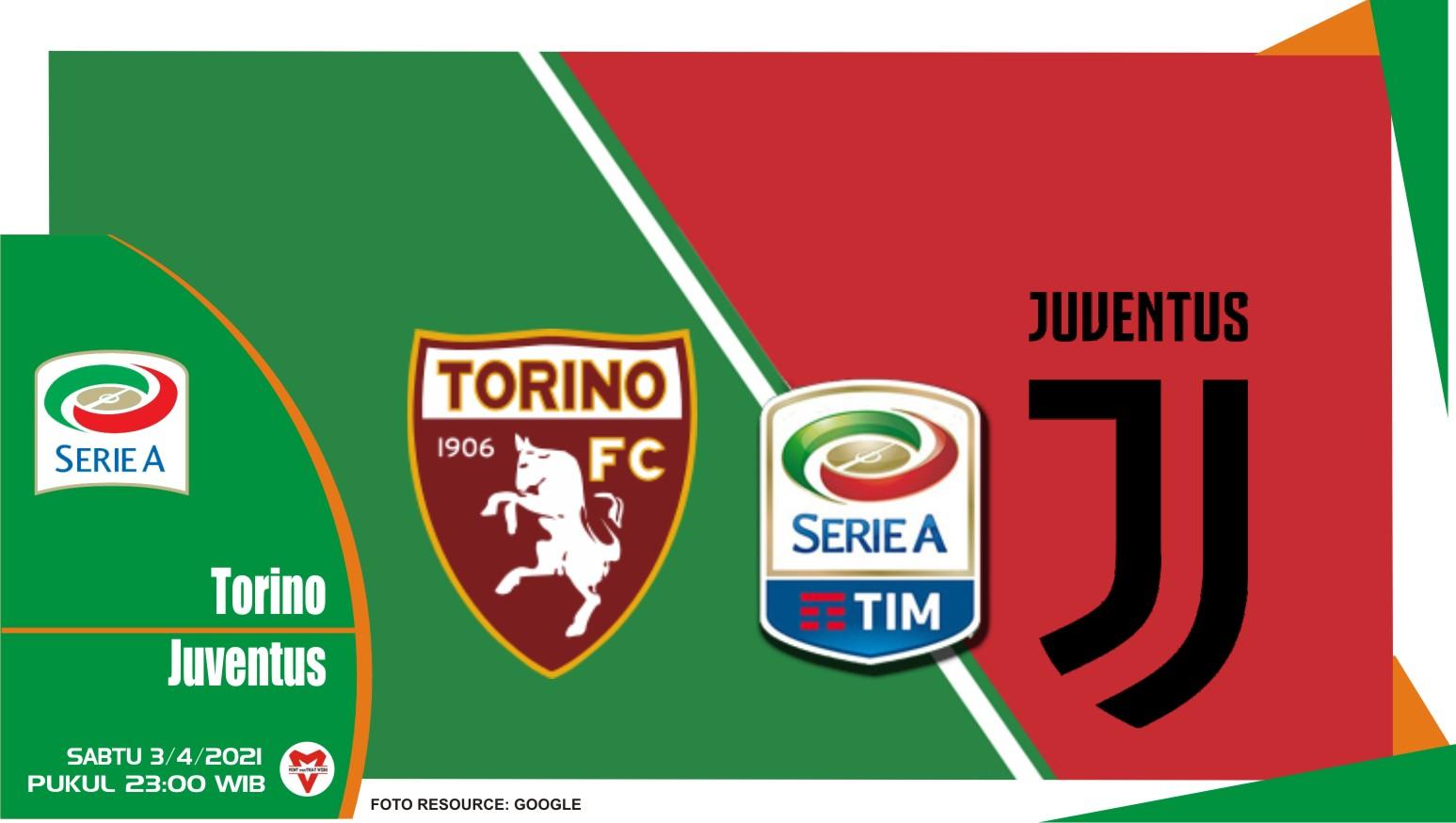 Prediksi Liga Italia: Torino vs Juventus - 3 April 2021